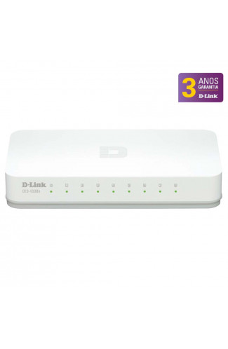 HUB SWITCH D-LINK DES-1008C - 8 PORTAS